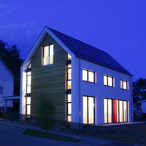 Neubau des Hauses Huthmacher in  Sigmaringen