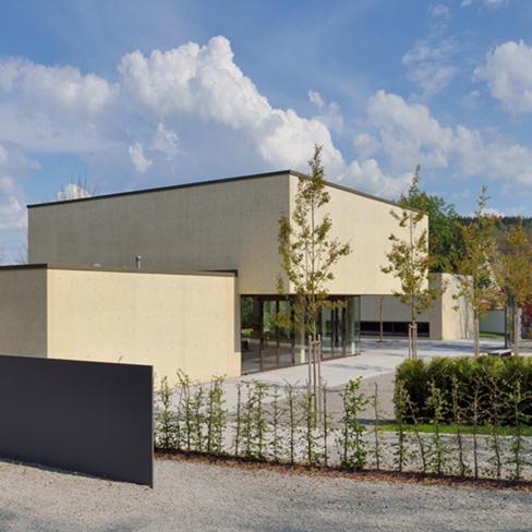 Aussegnungsgebäude in Sigmaringendorf